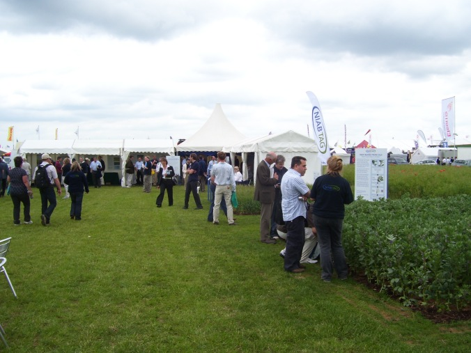 NIAB stall at 'cereals' 2011