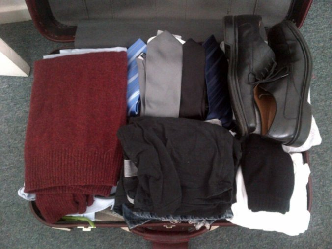 I wore only one of those ties during my entire two month stay in Cambridge.