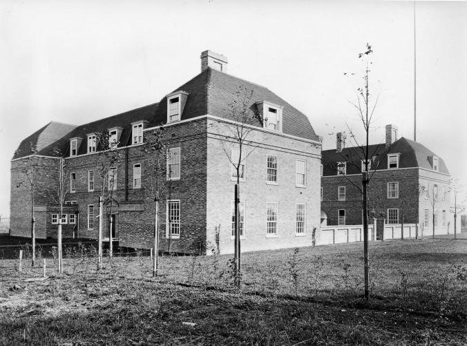 NIAB Headquarters, completed in 1921. Image property of the National Institute of Agricultural Botany.